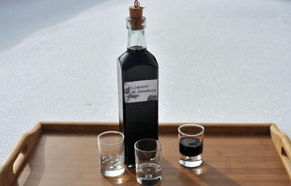 Liquore di sambuco