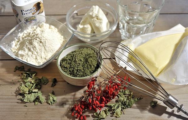 ingredienti bocconcini di ortiche e crespino